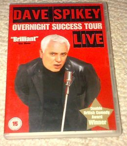 Dave Spikey - Overnight Success Tour - Live (DVD, 2003) #ebay #uniqbeats #music