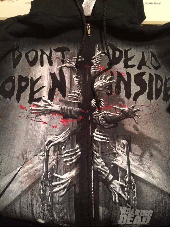 Walking Dead hoodie | Geek Chic | Pinterest
