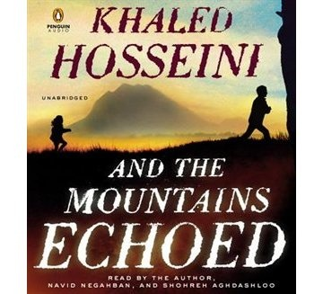 And The Mountains Echoed, reading now :)