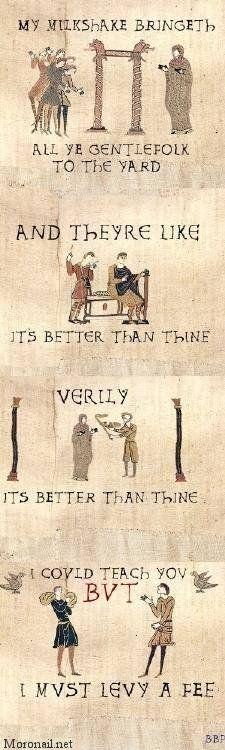 Milkshake medieval-style