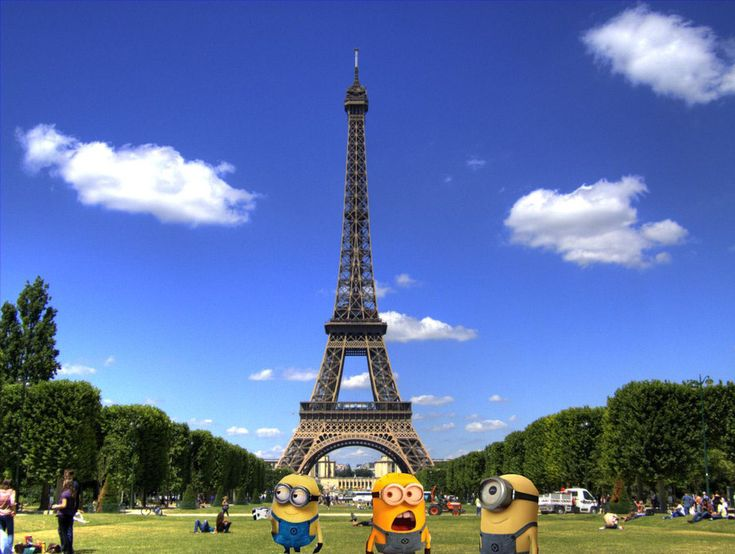 Minions From Despicable Me | despicable me minions in paris wallpaper