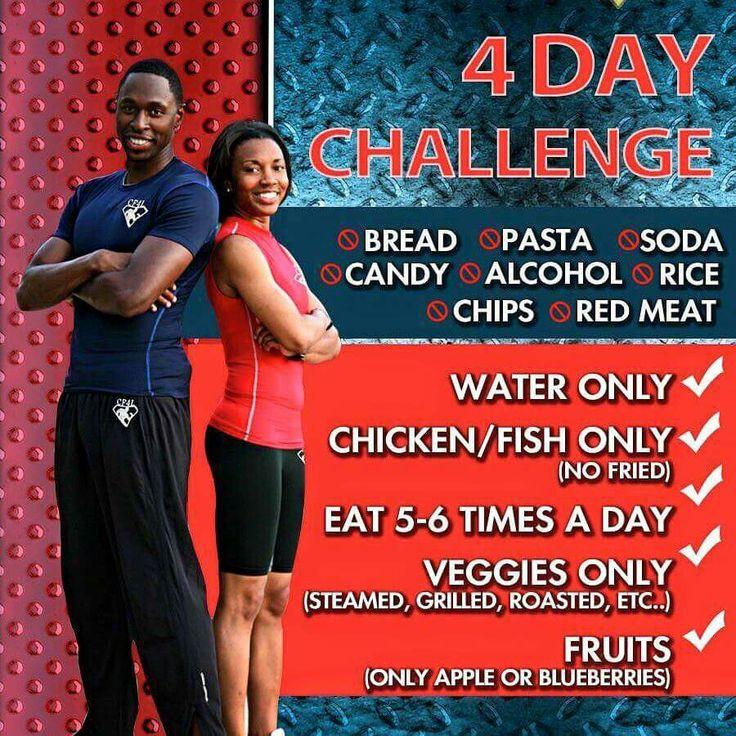 4 day food challenge