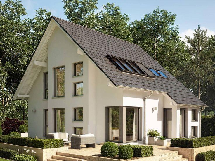 37 besten energiesparhaus bilder auf pinterest ansicht grundrisse und bauunternehmen. Black Bedroom Furniture Sets. Home Design Ideas
