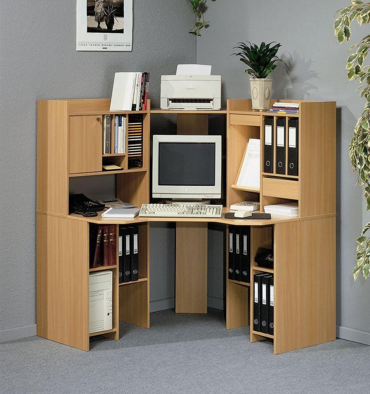 Wood Corner Computer Desks For Home