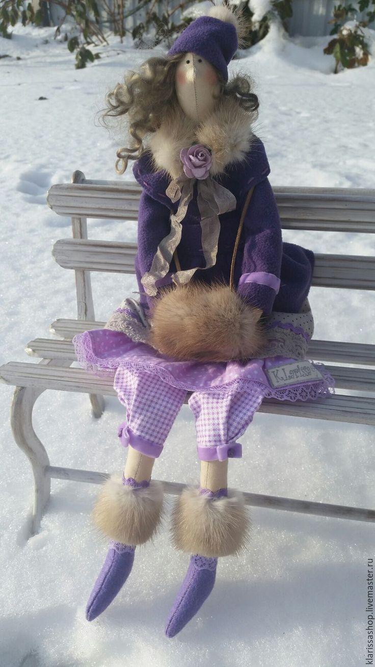 Купить Тильда зимняя - тильда кукла, тильда зимняя, оригинальный подарок, интерьерная кукла