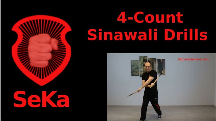 4-Count Sinawali Drills (Trainingseinblick)