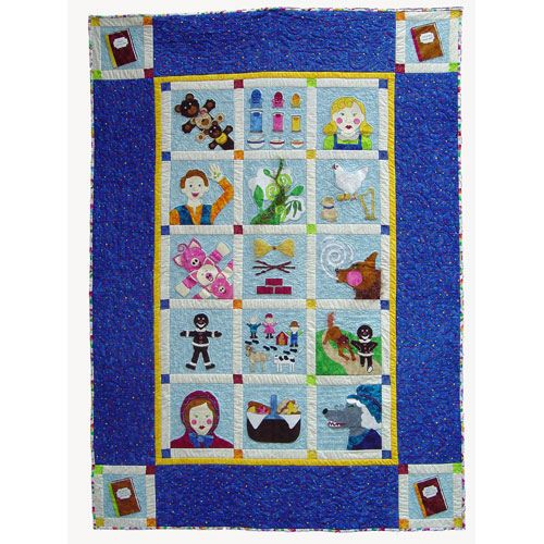121 best fairy tale quilt images on Pinterest | Crown, Girl rooms ... : fairy tale quilt patterns - Adamdwight.com