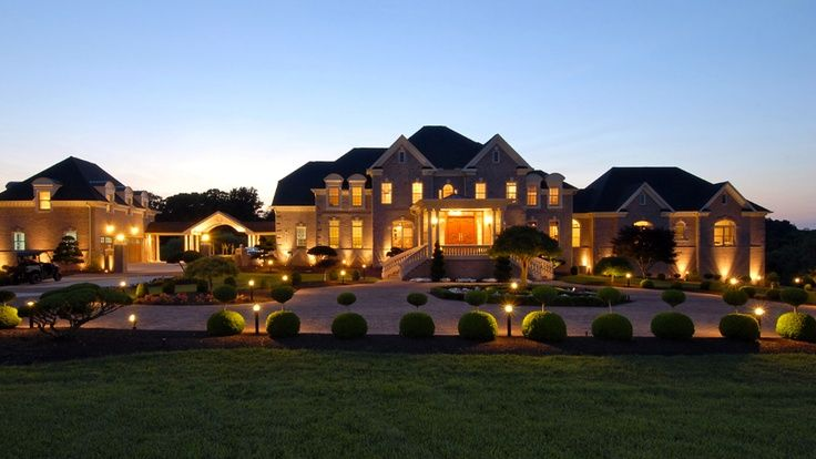 10 million estate in potomac md grandeur opulence for What is a luxury home