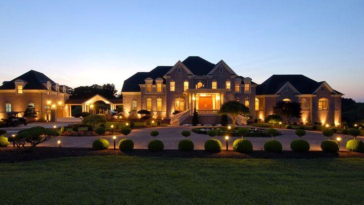 10 million estate in potomac md grandeur opulence for Luxury million dollar homes
