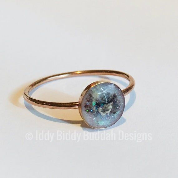 Can You Get Dna From Ashes After Cremation 14k Rose Gold Filled Memorial Ring Ashes Ring Cremation Etsy Ashes Ring Ashes Jewelry Memorial Jewelry Ashes