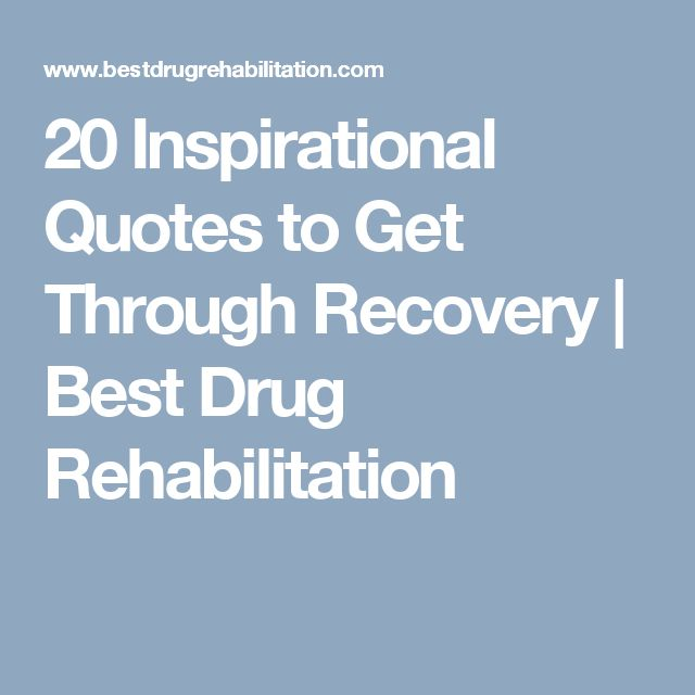Inspirational Quotes About Positive: 25+ Best Drug Recovery Quotes On Pinterest