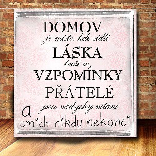 ...domov je / Zboží prodejce dílnička | Fler.cz