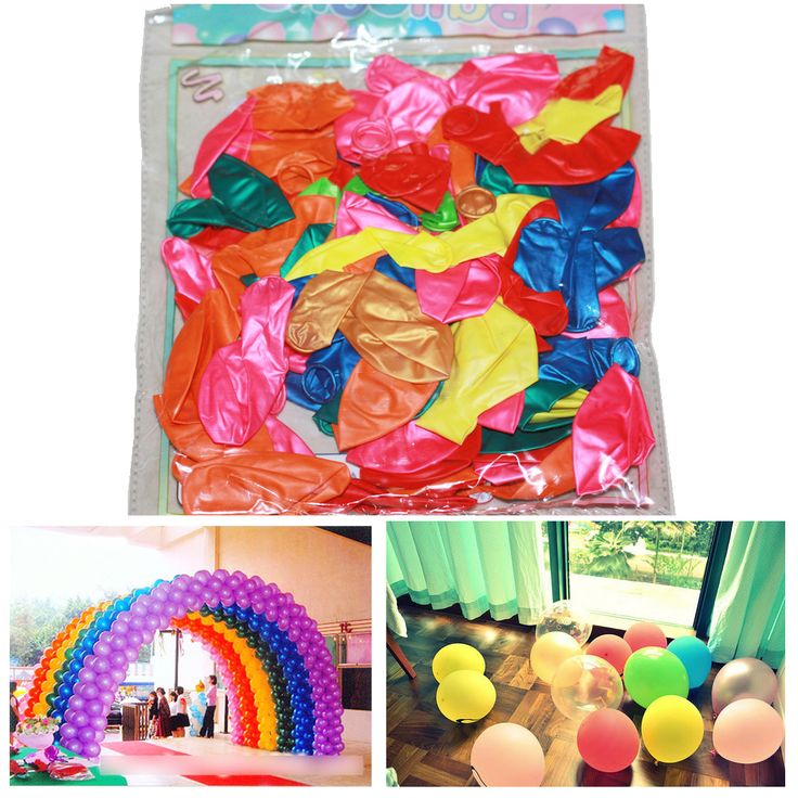 100pcs/bag 10 Inch Thick 1.2 g Birthday Ballons Decorations Wedding Ballons Advertising balloons Pink White Purple Globos Party