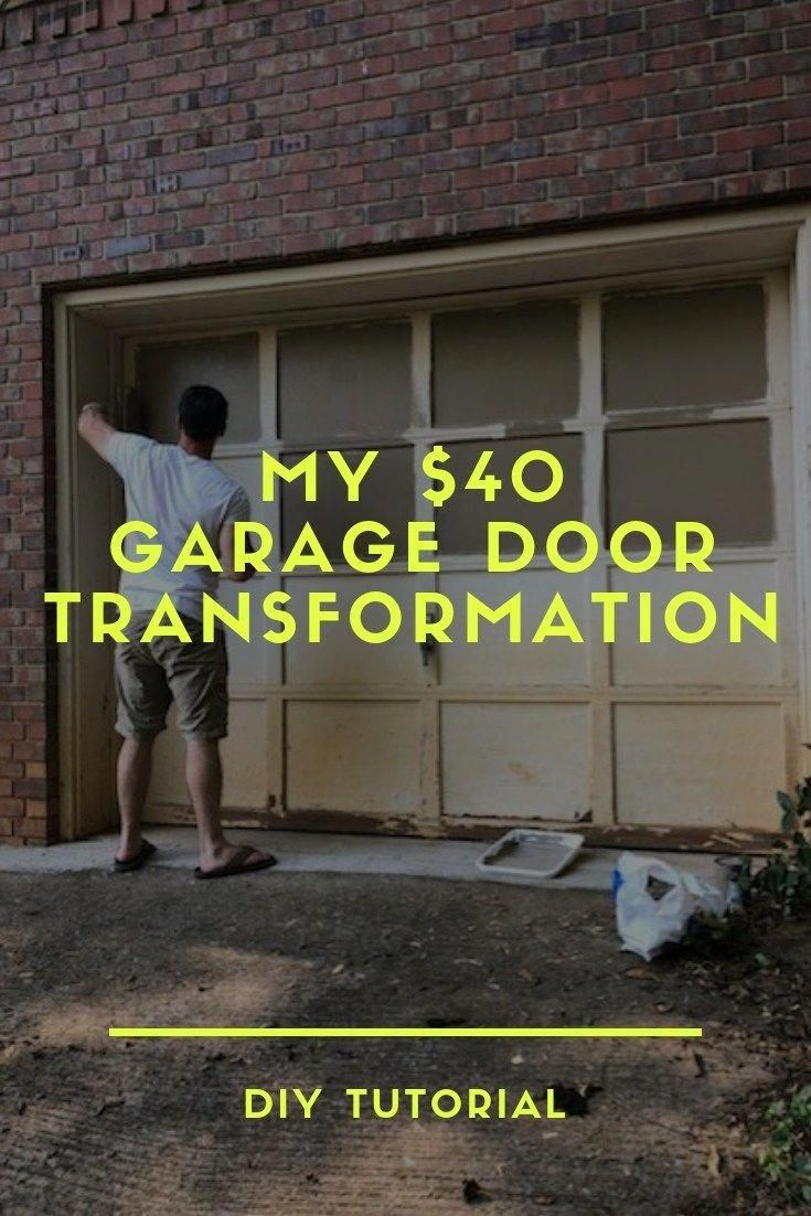 The First Garage Door Opener Included A Radio Transmitter A Receiver And An Actuator To Open Or Close The Door Garage Doors Wood Garage Doors Diy Garage Door