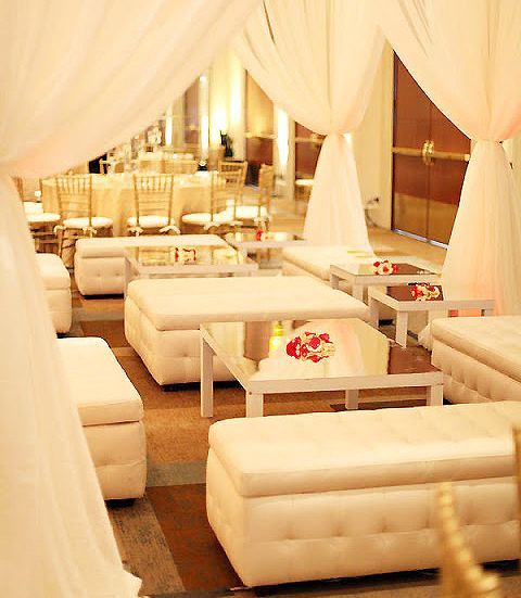 Top 10 Wedding Trends for 2013: reception lounges