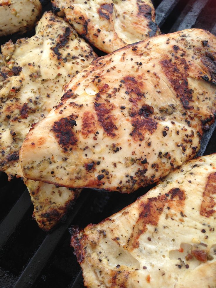 Grilled Chicken Breast www.blueketchupbbq.com
