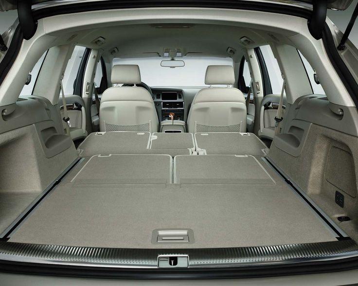 The Audi Q7 interior...luxurious and spacious!