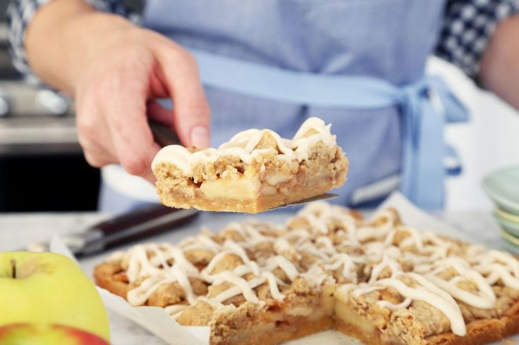 Ina Garten's Apple Pie Bars