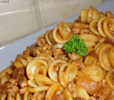 Dans la cuisine de Blanc-manger: Hamburger Helper maison
