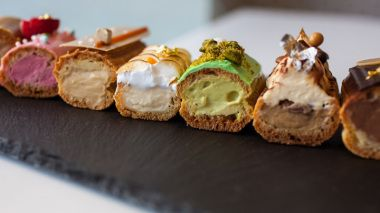 Eclairs: a choux-in for the latest food trend