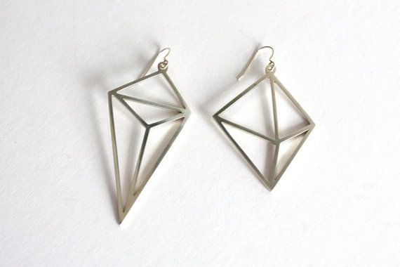 Hey, I found this really awesome Etsy listing at https://www.etsy.com/uk/listing/257899894/geo-rock-earrings-sterling-silver