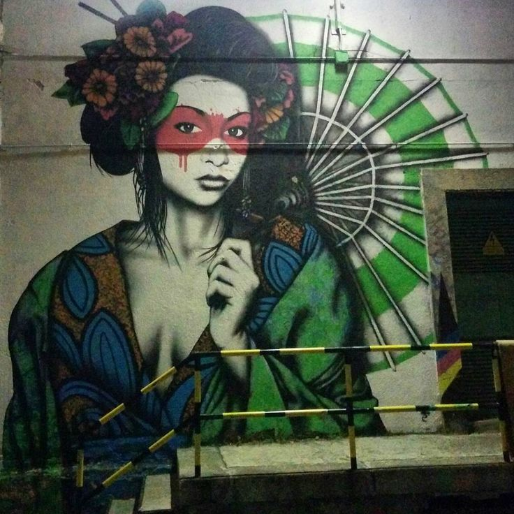 Hey pretty lady #LaTabacalera #Madrid #streetart