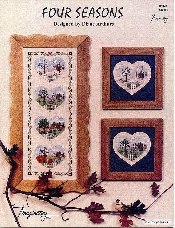 Cross-stitch Four Seasons Sampler, part 1... Gallery.ru / Фото #1 - 653 - Yra3raza