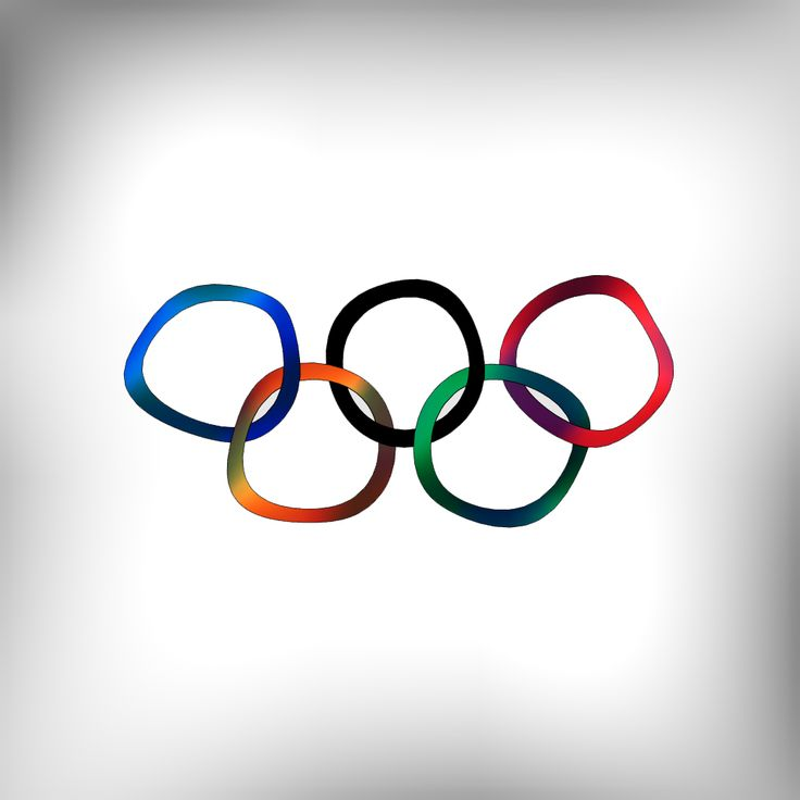 Олимпийские кольца в Wolfram Mathematica