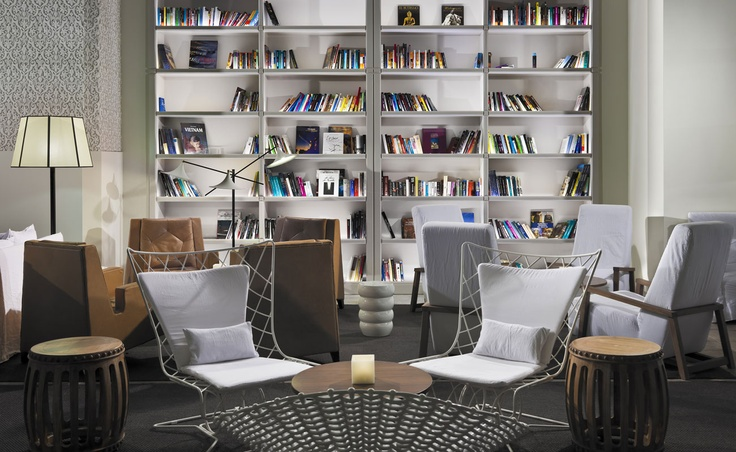 Lobby reading area #hotel #h10 #h10hotels