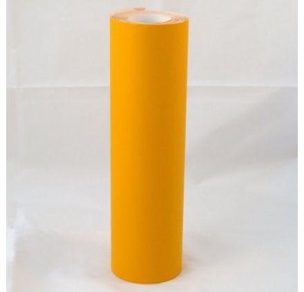 Vinyle adhésif pour Craft Robo - 230mm x 10m - Orange Clair Mat