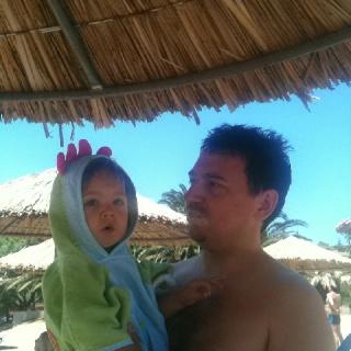 My boys @ the beach!!!