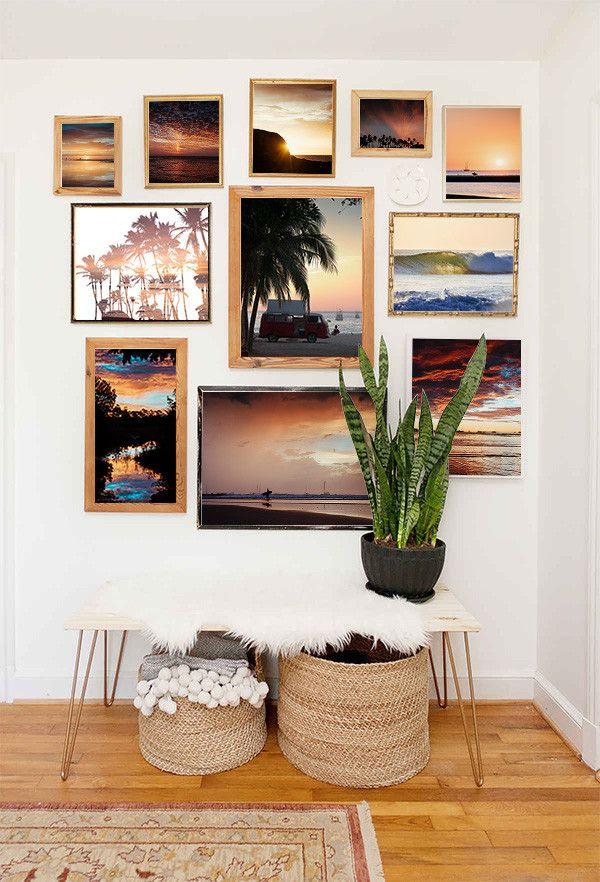The Sunset Shop   Beach style for the home. coastal chic, palm trees, beach chic, coastal decor, coastal California, coastal California style, costal California design, tropical decor, tropical design, tropical paradise, tropical decorating, tropical decor bohemian, bohemian decor, boho chic, bohemian decor apartment, bohemian gypsy decor, jungalow, bohemian style, bohemian surf decor, beach shack, surf shack, bohemian surf style, surf shack design, gallery wall, how to gallery wall