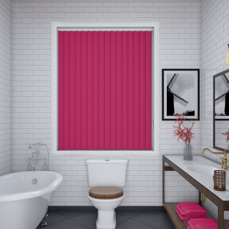 Unilux Flamingo Vertical Blinds - Make My Blinds
