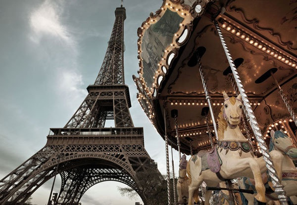 Carrousel de Paris 1-602 - Seinäruusu - Verkkokauppa