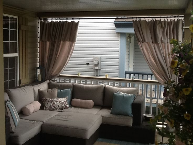 Curtains Ideas curtains made from painters drop cloths : 1000+ ideas about Sonnenschirm Rechteckig Balkon on Pinterest ...