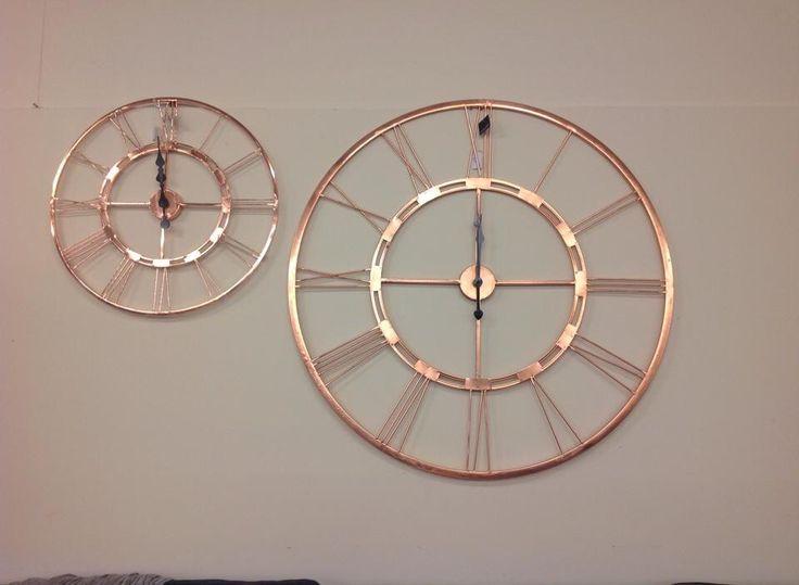 Rose Gold Clocks