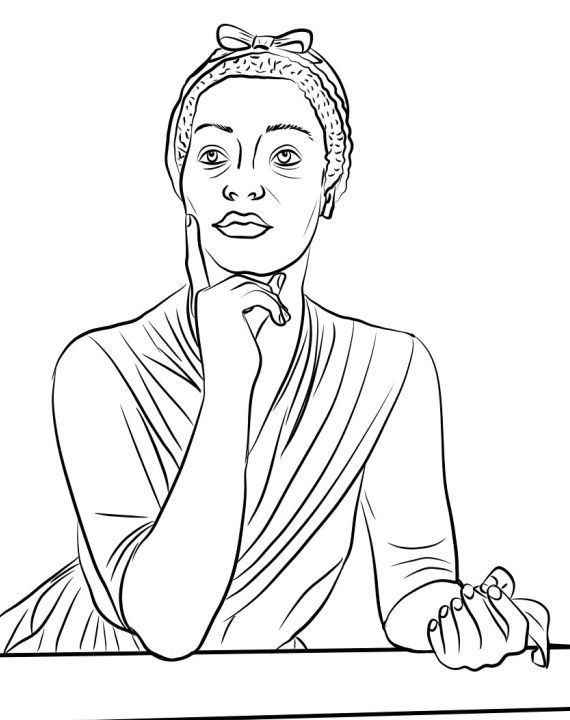 Rosa Parks Coloring Page Rosa Parks Coloring Pages Black Power Movement