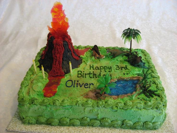 Dinosaur Birthday Cakes Pintrest