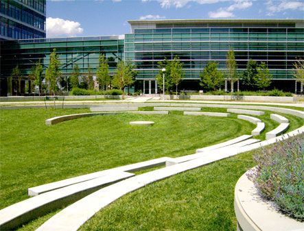University of colorado anschutz medical campus landscape for Garden design university