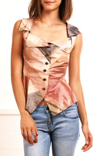 VIVIENNE WESTWOOD BLOUSE. I would never wear this but it looks cool!