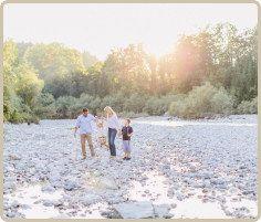 Familienausflug ins Tauglgries im Spätsommer