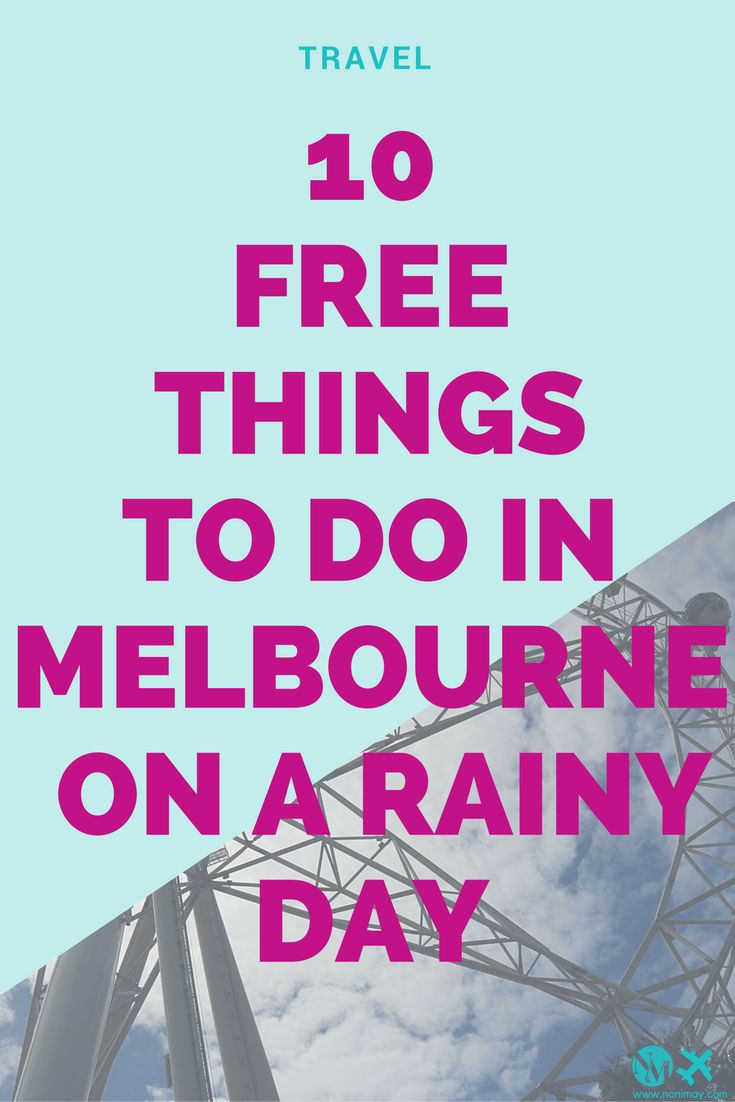 10 free things to do in Melbourne on a rainy day. The ultimate Australia travel guide and the ultimate Melbourne city guide for cheap! #travel #travelblog #melbourne #australia #rain #cityguide #travel #city #lifestyle #digitalnomad