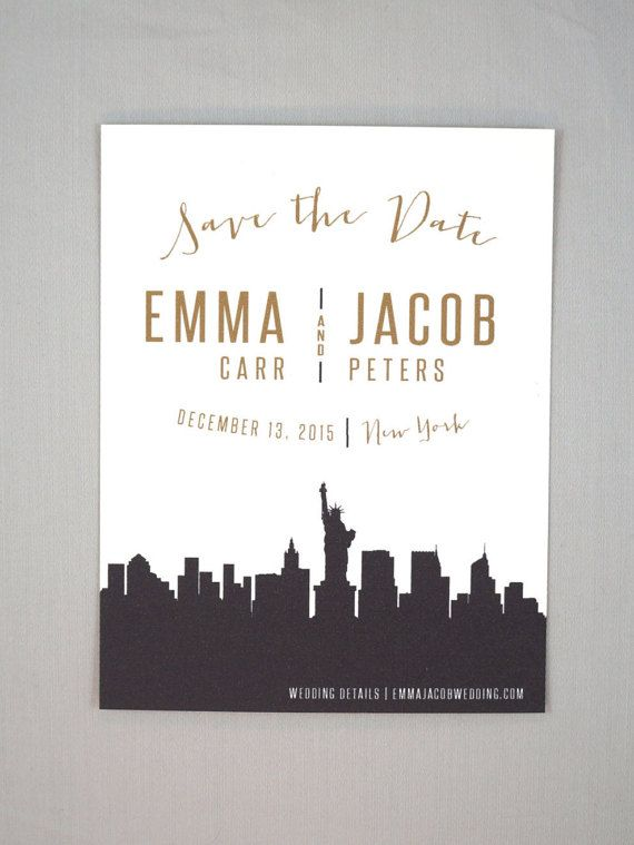 Best  Minimal Wedding Save The Dates Ideas On