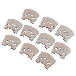 20pcs Full Size High Quality Maple Full Size High Quality Violin Bridge 3/4 Violin Parts by Violin parts. $16.99. high quality and testing is fine 100% brand new  Item 100% like the picture shown Material: maple SIZE: 3/4 Package Included : 20 x violin bridge We manufacture all kinds of instrument parts and conduct The direct model so that our price is very low with high quality.