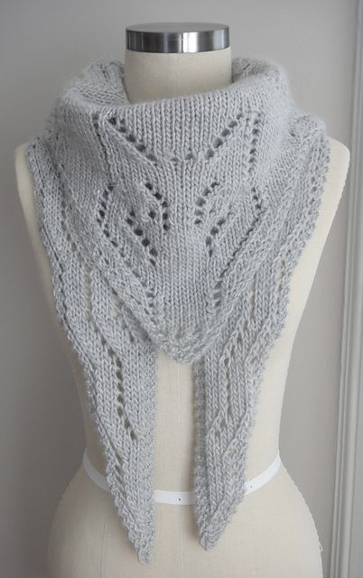 Arctic Foxy Wolf Shawl Pattern - Unique Love it! Knitting Patterns & Tu...