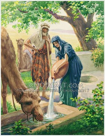 Rebekah At The Well Genesis 24