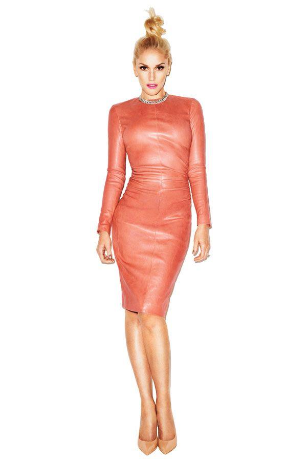September Cover Girl: Gwen Stefani  The Row dress, Bergdorf Goodman. Van Cleef & Arpels necklace,  vancleefarpels.com. Yves Saint Laurent pumps,    Read more: Gwen Stefani Interview - Gwen Stefani Quotes on Fashion, Family and Work - Harper's BAZAAR