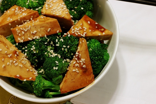 Baked Tofu and Broccoli | Recipe Inspiration | Pinterest