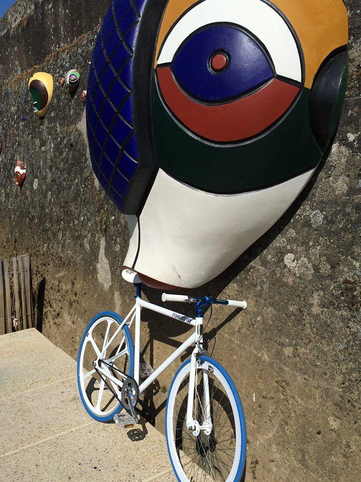 Arnaud's Custom FunkedUp Fixie bike