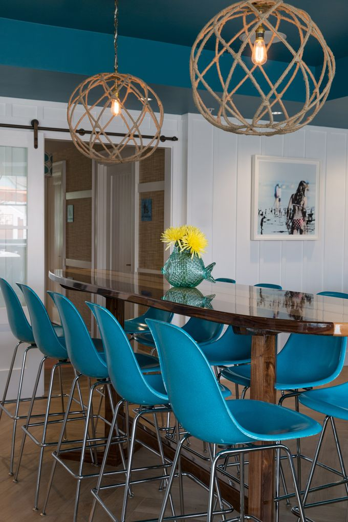 Beach House Lighting...House Of Turquoise: Chair 5 Beach Bistro And Bar